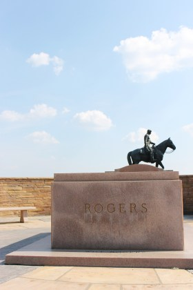 Will Rogers tomb