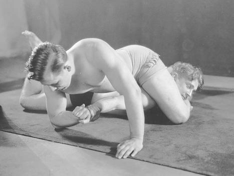 Nat Pendleton wrestling