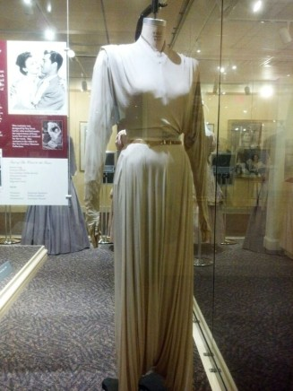 "A costume from the film ""She Went to the Races"" (1945) -my personal favorite of the costumes there.  (Comet Over Hollywood/Jessica P)"