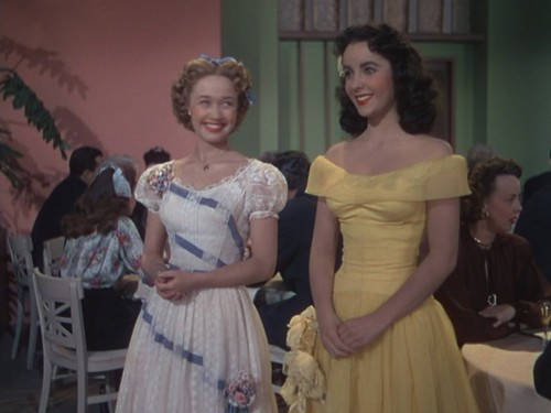 "Jane Powell and Elizabeth Taylor in ""A Date with Judy"" (1948)"