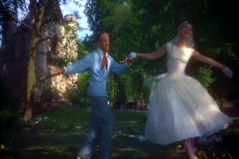"Astaire and Hepburn dancing in ""Funny face"""