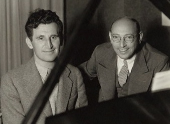 The real Harry Ruby and Bert Kalmar.