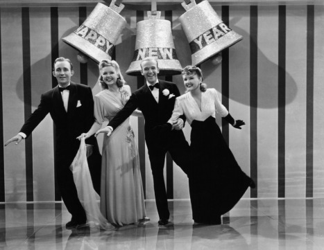 Bing Crosby, Marjorie Reynolds, Fred Astaire, Virginia Dale