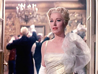 "Eleanor Parker as the Baroness in ""Sound of Music"" (1965)."