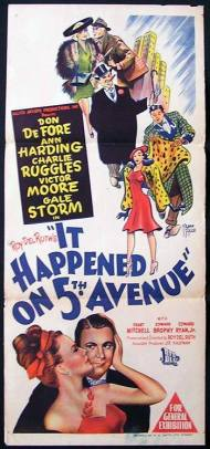 Image result for it happened on fifth avenue (1947)
