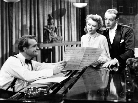"Red Skelton, Vera-Ellen and Fred Astaire in ""Three Little Words"""