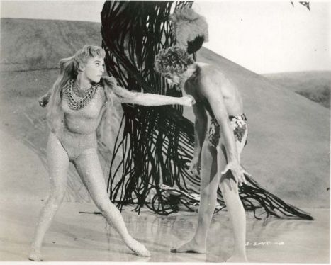 "Shirley MacLaine and Marc Wilder dance the ""Garden of Eden"" ballet"