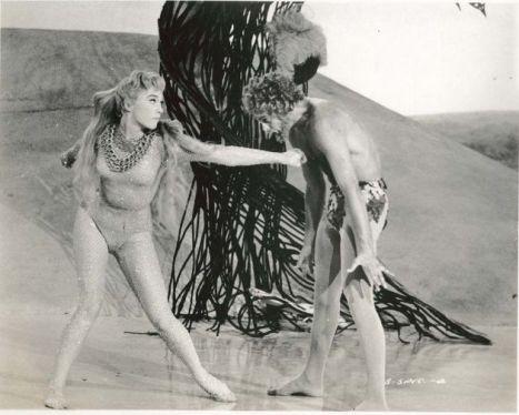 "Shirley MacLaine and Marc Wilder dance the ""Garden of Eden"" ballet"
