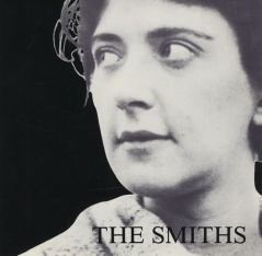 "Writer Shelagh Delaney on the cover of the ""Girlfriend in a Coma"" album. """"Work Is a Four-Letter Word"" played on the B-side."