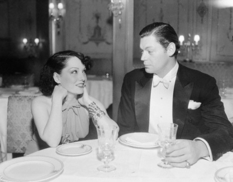 Lupe Velez and Johnny Weissmuller in 1935.