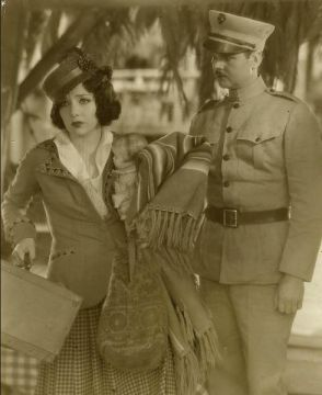 "Lupe Velez and Lawrence Tibbett in ""Cuban Love Song"""