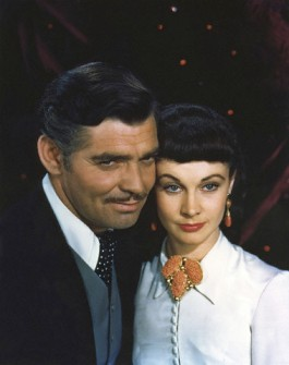 "A publicity photo of Clark Gable and Vivien Leigh for ""Gone with the Wind"" (1939). This photo also appears in Bean's book."