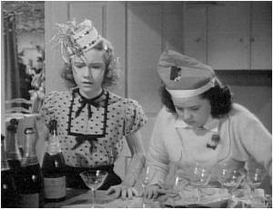Judy and Fuffy think they'll get drunk from a few sips of champagne on New Year's Eve.