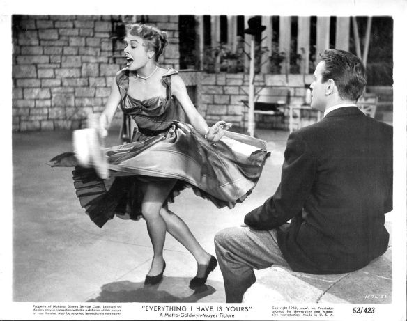 Marge Champion dances in a solo number in the film.