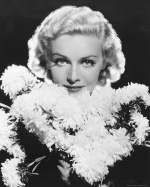 Publicity photo of Madeleine Carroll from the 1930s.