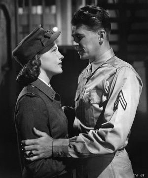The romance between Joan Leslie and Ronald Reagan took up probably 20 minutes of this film.