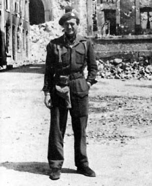 Lt Col David Niven, Royal Marine Commando, Normandy 1944