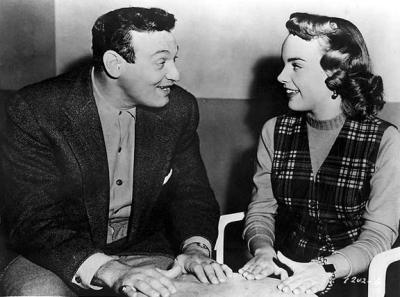 Frankie Lane and Terry Moore