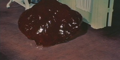"The fearsome monster in ""The Blob"" (1958)"