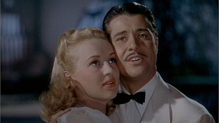 "Betty Grable and Don Ameche in ""Down Argentine Way"""