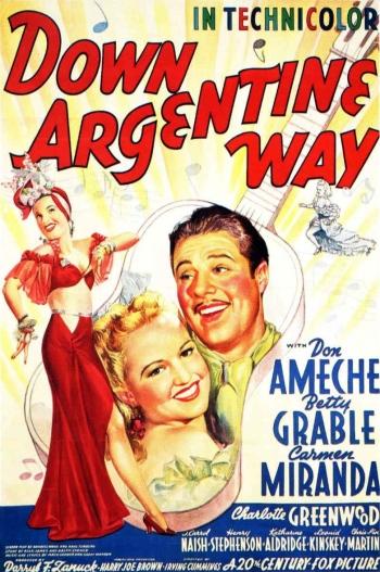 Poster - Down Argentine Way_01