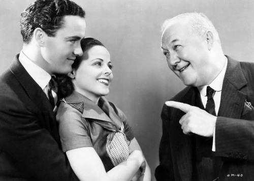 Charles Buddy Rogers, Barbara Kent and George Barbier.