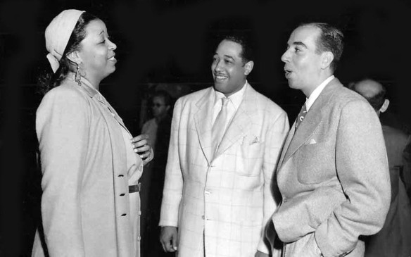 "Ethel Waters, Duke Ellington and director Vincent Minnelli on the set of ""Cabin in the Sky"" (1943). Source: A Certain Cinema"