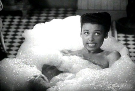 "Lena Horne singing ""Ain't It the Truth"" in the scene that was cut from ""Cabin in the Sky."""