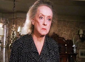 "Bette Davis, 72, in ""Watchers in the Woods"""