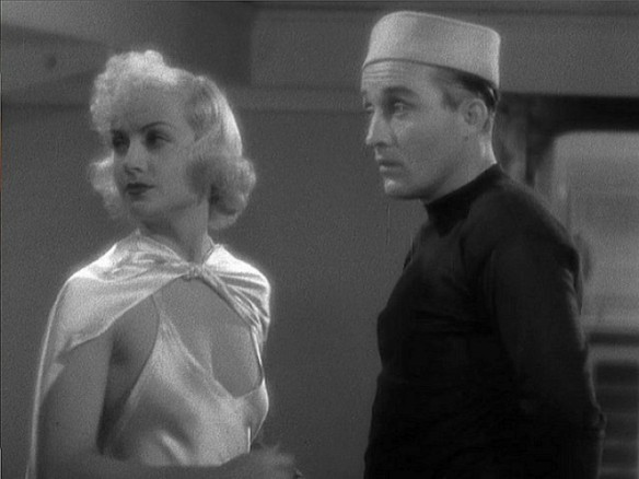 "Carole Lombard and Bing Crosby in ""We're Not Dressing"""