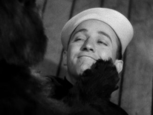 Droopy the Bear swoons for Bing Crosby's singing.
