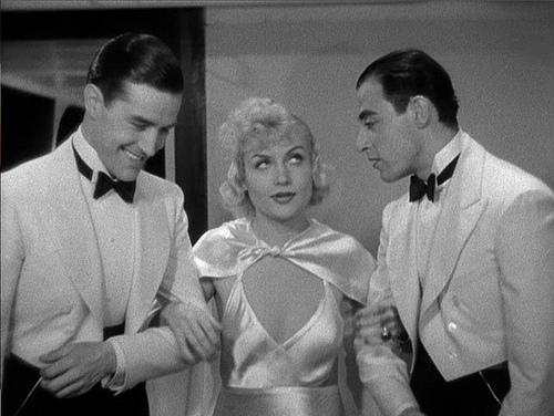 Lombard and her two princes- Ray Milland and Jay Henry.