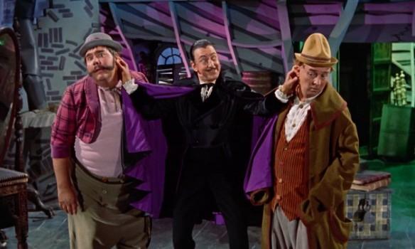 The Villians: Henry Calvin, Ray Bolger, Gene Sheldon