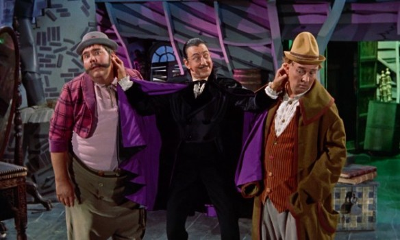 The Villians: Henry Calvin, Ray Bolger, Gene Sheldon
