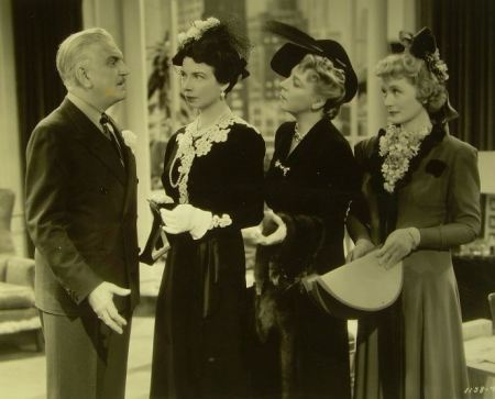 Frank Morgan has to earn money to pay alimony to three wives.