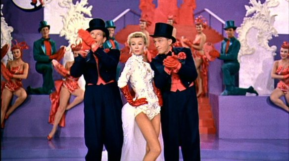 "Danny Kaye, Vera-Ellen and Bing Crosby in the ""Mandy"" number"
