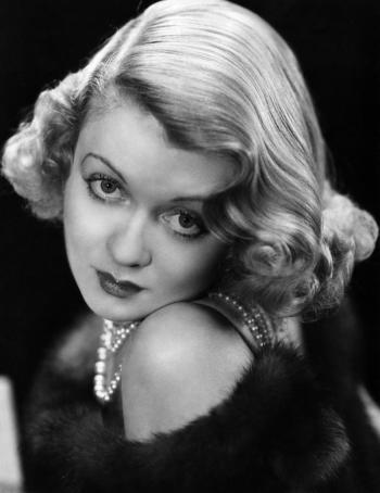 Actress Constance Bennett at the height of her career in the 1930s.
