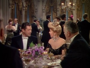 "Dennis Morgan as Chauncey Olcott and Andrea King as Lillian Russell in ""My Wild Irish Rose"" (1947)."
