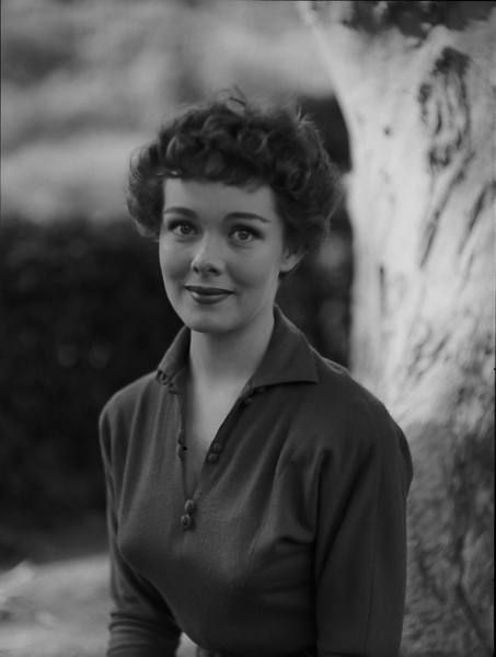 Actress Phyllis Kirk in the early-1950s.