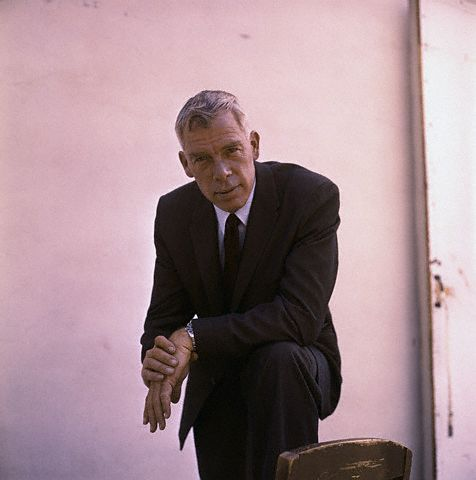 Portrait of Lee Marvin
