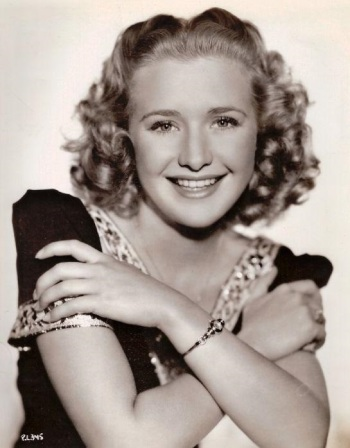 Actress Priscilla Lane in the late-1930s.