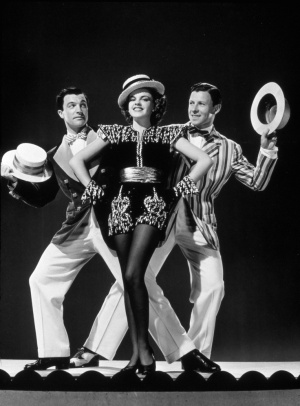 Gene Kelly, Judy Garland and George Murphy in a publicity still for