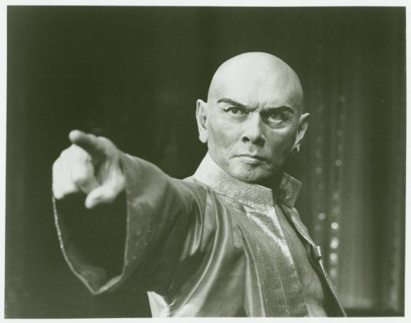 "Yul Brynner during the 1985 ""King and I"" revival."