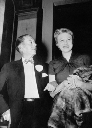 Cole Porter and his wife Linda Lee