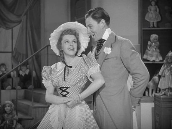 Judy Garland and George Murphy in the