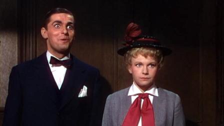 Keefe Brasselle as Eddie Cantor and Marilyn Erskine as Ida Cantor
