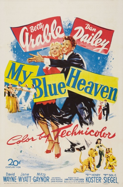 Poster - My Blue Heaven (1950)_01
