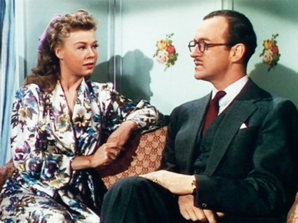 "Vera-Ellen and David Niven in ""Happy Go Lovely"""