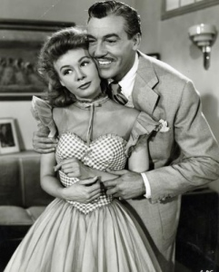 "Vera-Ellen and Cesar Romero in ""Happy Go Lovely"""