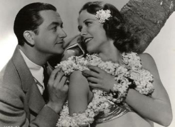 Robert Young and Eleanor Powell in